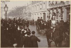 [Cortège de la cavalerie lors de la visite du Président Félix Faure]