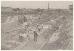 [La construction de la gare de Brotteaux]