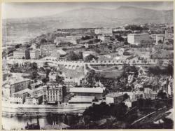 [Vue de la Croix-Rousse, depuis Fourvière, vers 1875]