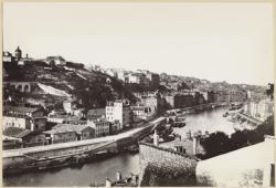 [Vue de la Croix-Rousse, depuis le chemin de Montauban, avant 1870]