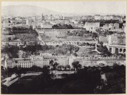 [Vue sur les Chartreux à la Croix-Rousse, vers 1875]