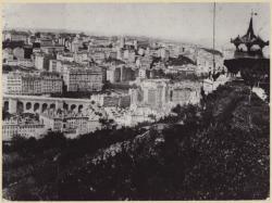 [Vue sur la Croix-Rousse, depuis Fourvière, vers 1875]