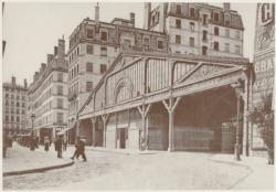 """[La Gare basse de la """"Ficelle"""" (ligne A), rue Terme, au début du XXe siècle]"""