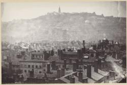 [Lyon en 1872, vu depuis la Croix-Rousse]