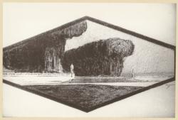 [Projet de monument aux morts pour la ville de Lyon, sur l'Ile aux Cygnes au parc de la Tête-d'Or]