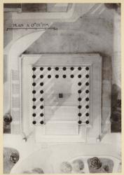 [Monument aux morts pour la Croix-Rousse, boulevard de la Croix-Rousse et place Bellevue : plan du troisième projet]