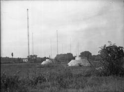 [Station de la Doua, relais radiotélégraphique et radiotéléphonique : puits filtrants de la Feyssine]