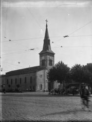 """[L'Eglise de la Nativité et """"Pied humide""""]"""