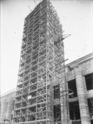 [Construction de l'hôtel de ville de Villeurbanne]