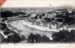 Lyon : Panorama pris du Restaurant Gay.