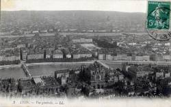 Lyon : Vue générale.