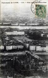 Panorama de Lyon : Vue prise de Fourvière.
