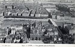 Lyon : Vue Générale prise de Fourvière.