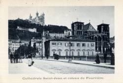 Cathédrale Saint-Jean et coteau de Fourvière
