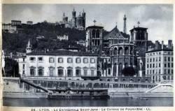 Lyon : La Cathédrale Saint-Jean ; Le Coteau de Fourvière