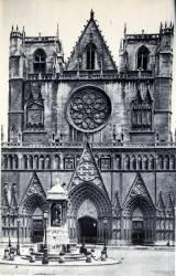 Lyon : La Cathédrale Saint-Jean