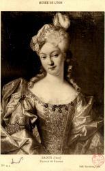 Musée de Lyon : Raoux (Jean) ; Portrait de Femme