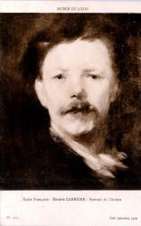 Musée de Lyon : École Française ; Eugène Carrière, Portrait de l'Artiste.