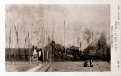Musée de Lyon : J. B. C. Corot, Paysage.