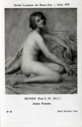 Benner Many E. M. (H.C.) : Jeune Femme