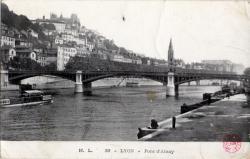 Lyon : Pont d'Ainay