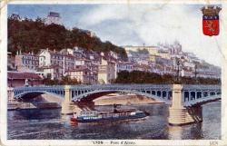 Lyon : Le Pont d'Ainay