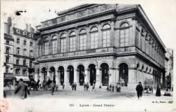Lyon : Le Grand Théâtre.