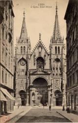 Lyon. - L'Eglise Saint-Nizier