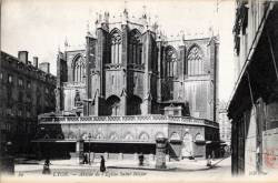 Lyon. - Abside de l'Eglise Saint-Nizier