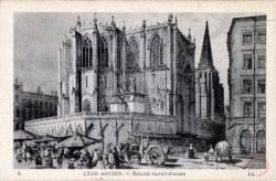 Lyon Ancien. - Eglise Saint-Nizier