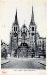 Lyon : Église Saint-Nizier