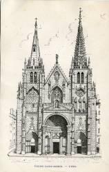 Lyon. - Eglise Saint-Nizier