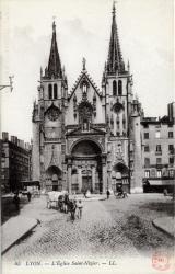 Lyon; L'Eglise Saint-Nizier