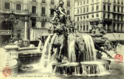 Lyon : La Fontaine Bartholdi
