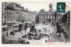 Lyon : Fontaine Bartholdi