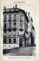 La Martinière : Administration et Direction ; 9 Rue des Augustins.