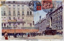 Lyon : Place Leviste