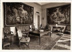 Chambre de Commerce de Lyon ; Musée des Arts décoratifs : Grand Salon ; Tapisseries D' Aubusson, d'après Oudry.