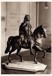 Chambre de Commerce de Lyon ; Musée des Arts décoratifs : Martin Desjardins (1632-1694); Statue équestre de Louis XIV.