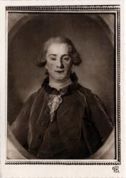 Chambre de Commerce de Lyon ; Musée des Arts décoratifs : J. -B. Perronneau, 1715-1783 ; Portrait au pastel de Théophile de Cazenove.