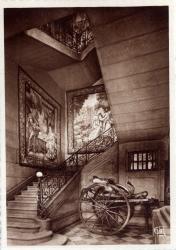 Chambre de Commerce de Lyon ; Musée des Arts décoratifs : Escalier.