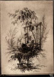 Chambre de Commerce de Lyon ; Musée des Arts décoratifs : J. Pillement, 1728-1808 ; panneau décoratif.