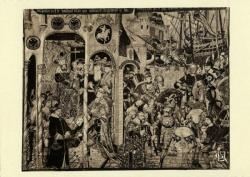 Chambre de Commerce de Lyon ; Musée des Arts décoratifs : Tapisserie flamande, seconde moitié du XVe siècle.