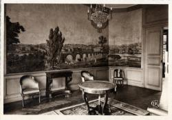 Chambre de Commerce de Lyon ; Musée des Arts décoratifs : Salon de l'époque de la Restauration.