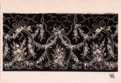 Chambre de Commerce de Lyon ; Musée des Arts décoratifs : Dentelle au point d'argentan, XVIIIe siècle.