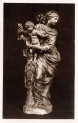 Musée Historique des Hospices civils de Lyon : Vierge à l'Enfant, de Coysevox (XVIIe s.)