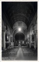 Lyon : Intérieur de l'Église d'Ainay.