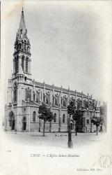 Lyon : L'église Sainte-Blandine