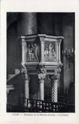 Lyon : Basilique de St-Martin-d'Ainay ; La Chaire