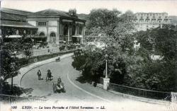 Lyon : La gare de Perrache et L'Hôtel Terminus